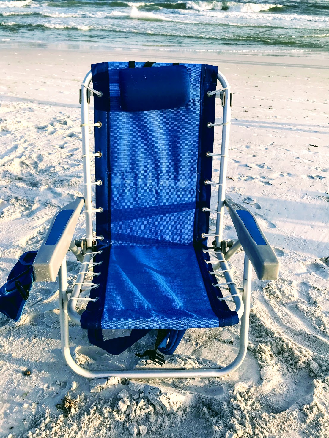 Rio beach chairs with coolers