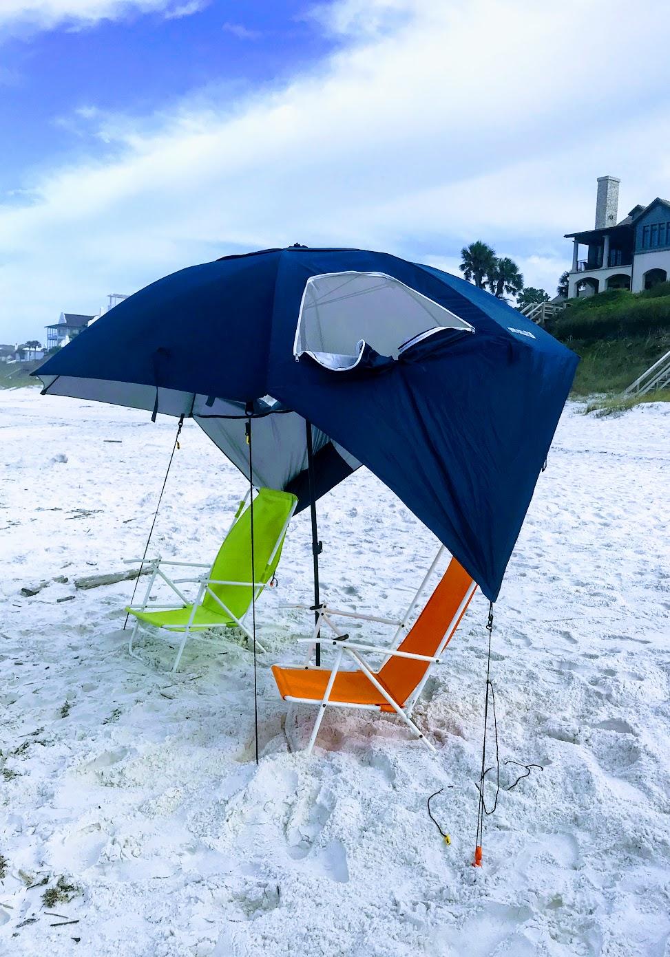 summer beach umbrella