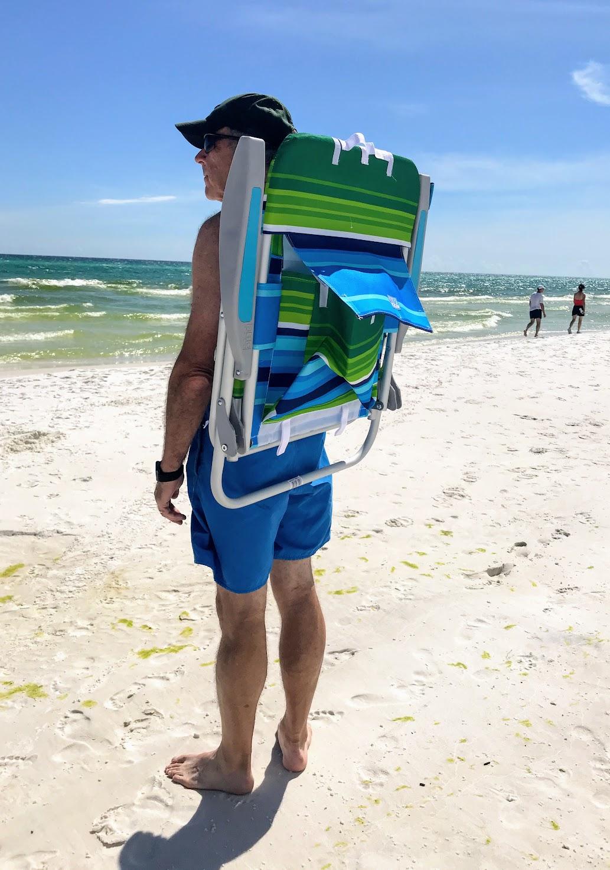 backpack beach chair