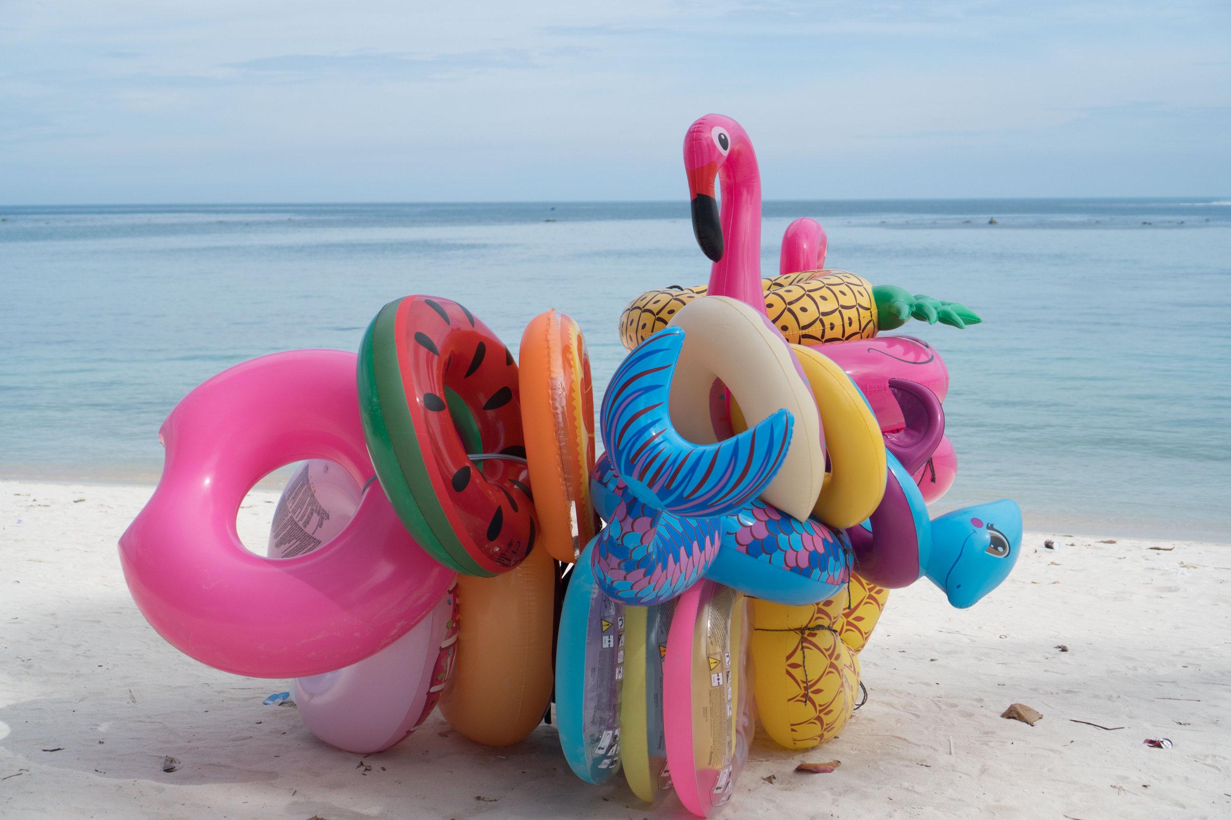 fun floats for the beach