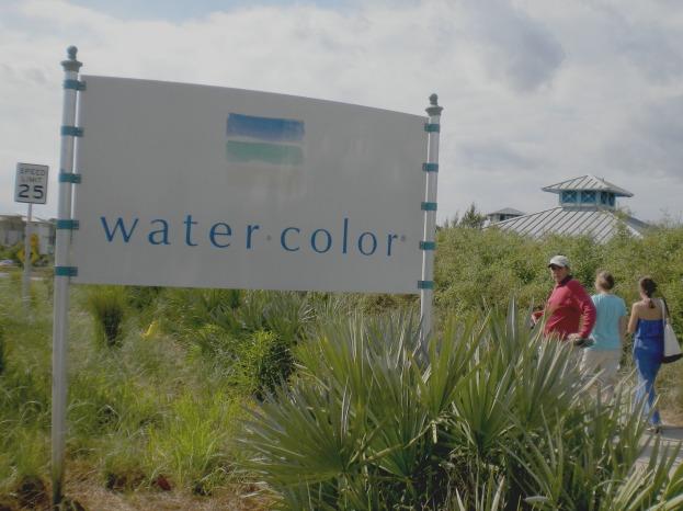 watercolor florida sign
