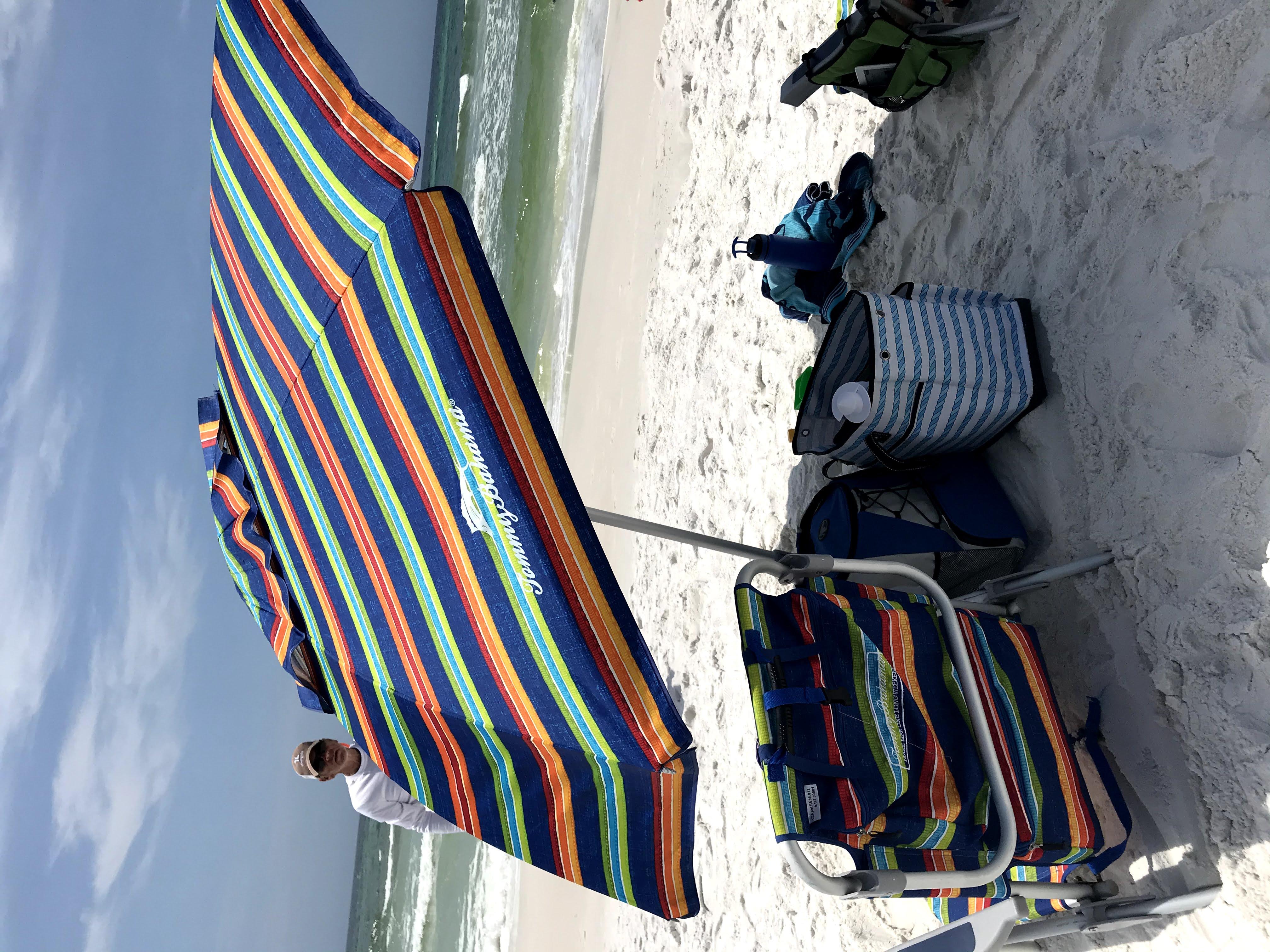 Tommy Bahama beach umbrella