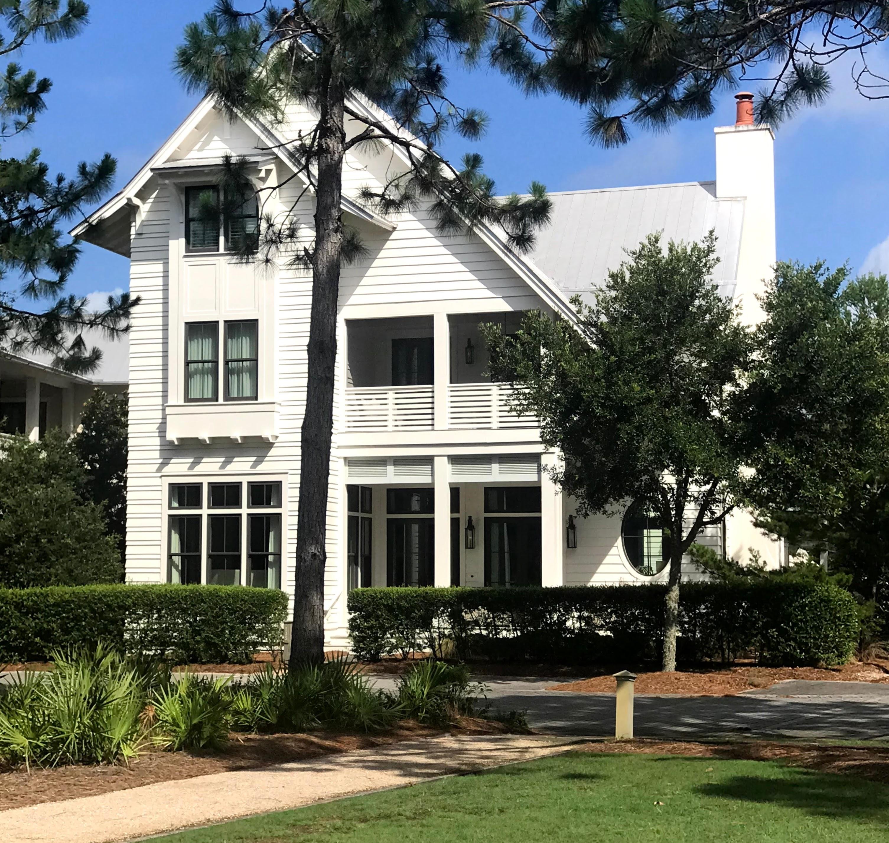 Watercolor Florida beach house vacation rentals