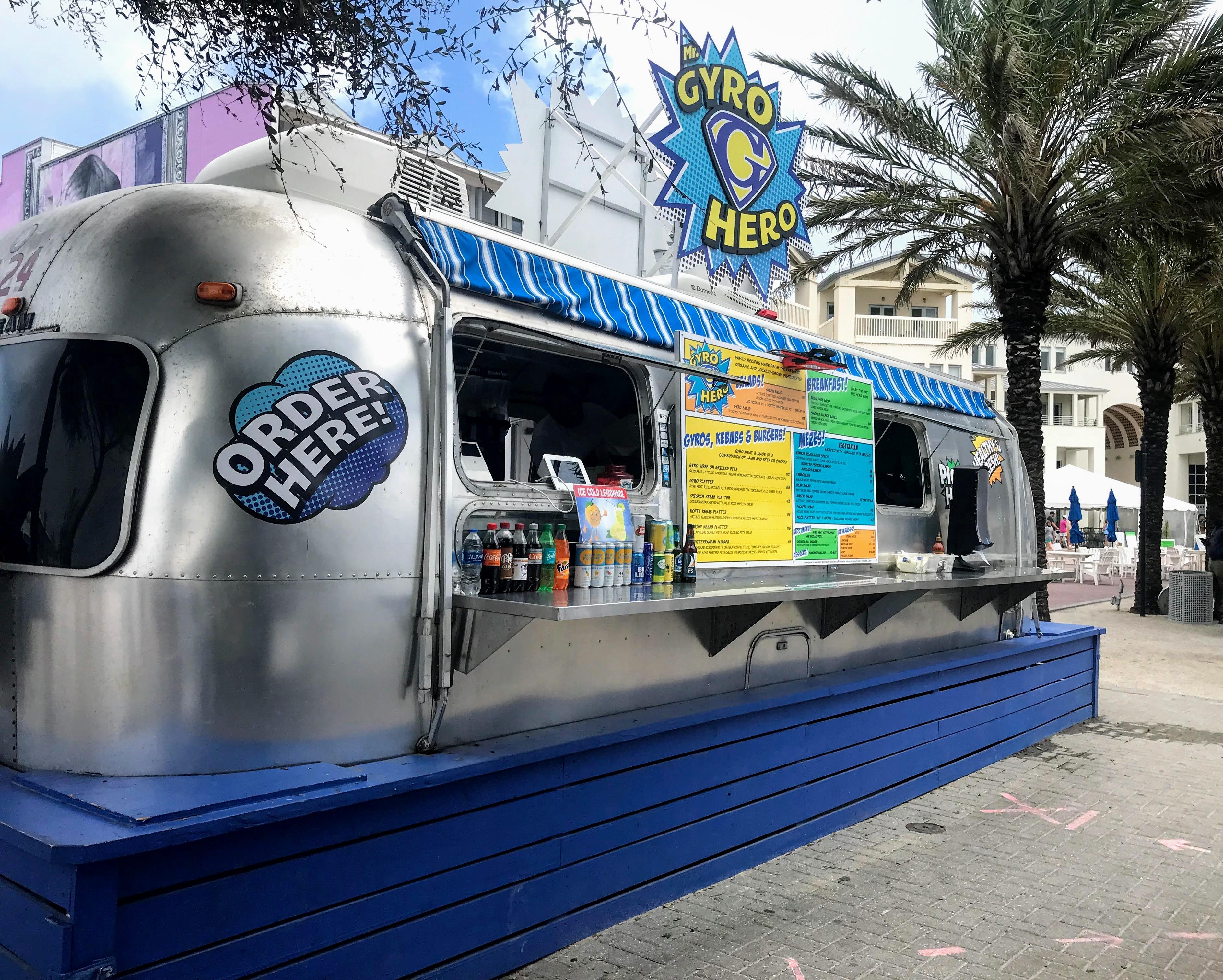 Seaside Florida food trucks