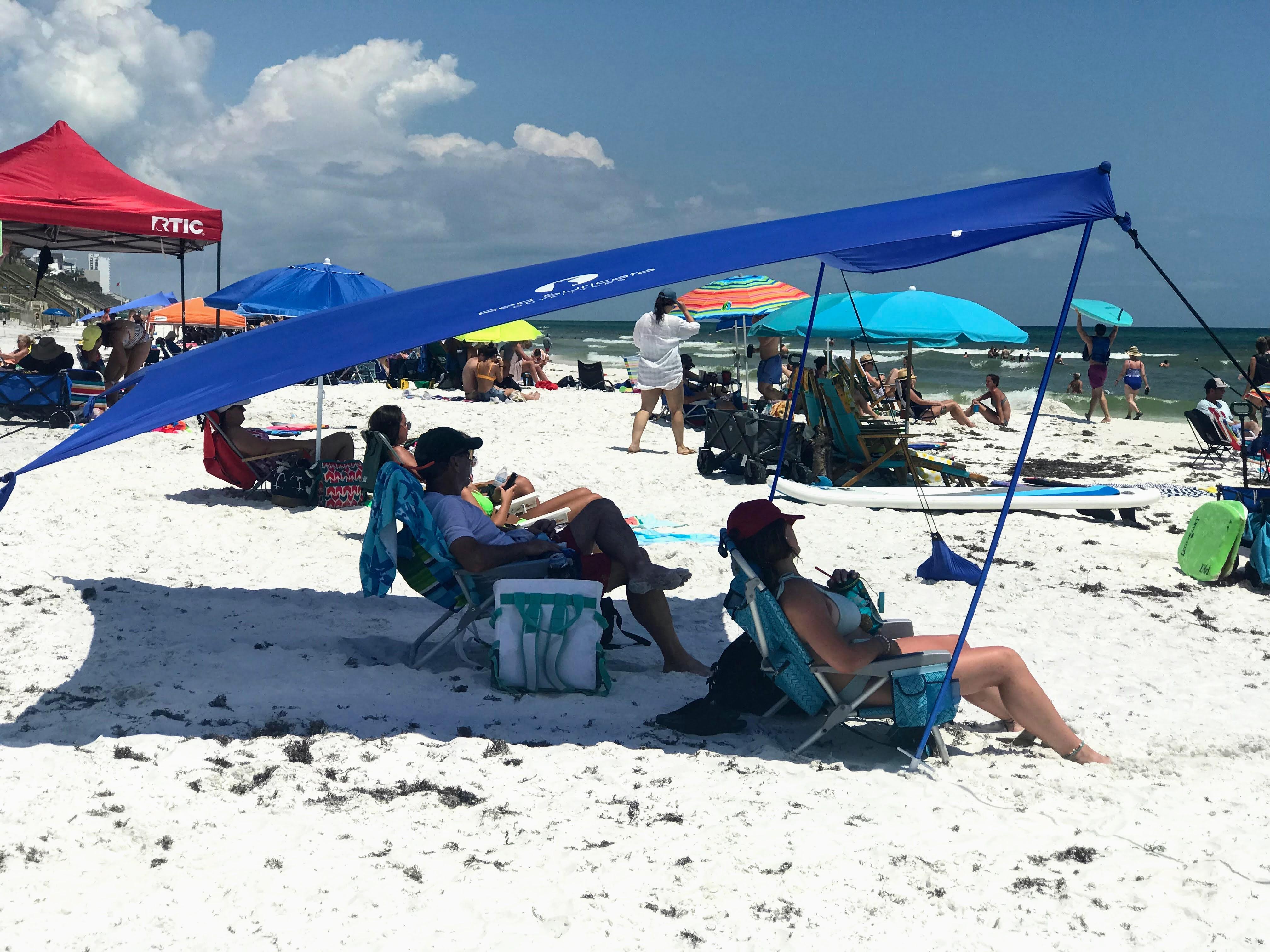 beach sun shade guide