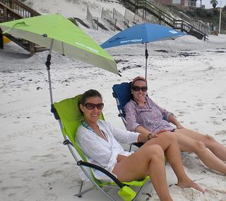 beach chair with canopy