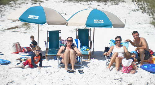 family beach vacation spots