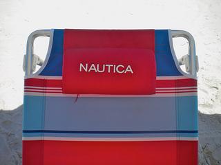 nautica beach chair