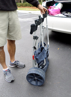 beach utility cart