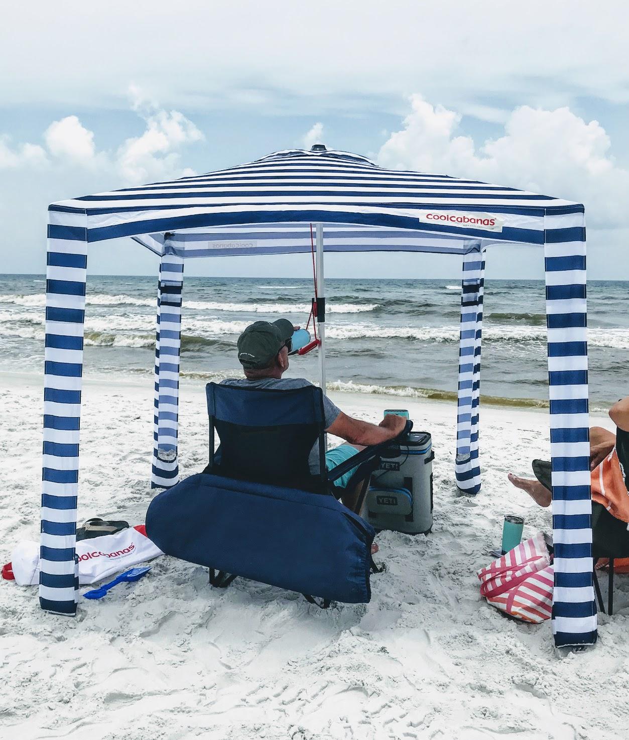 beach cabana tent