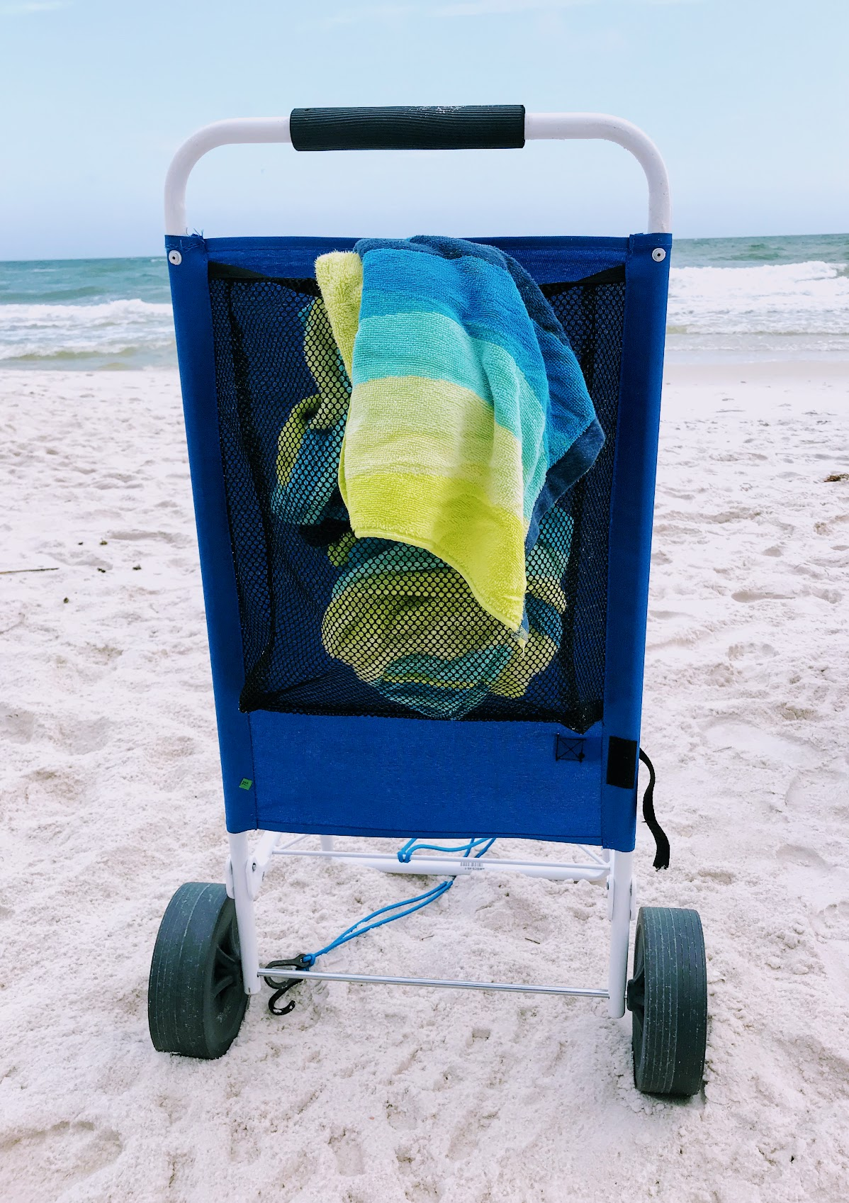 rolling beach cart