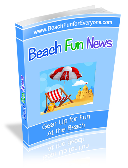 beach fun newsletter