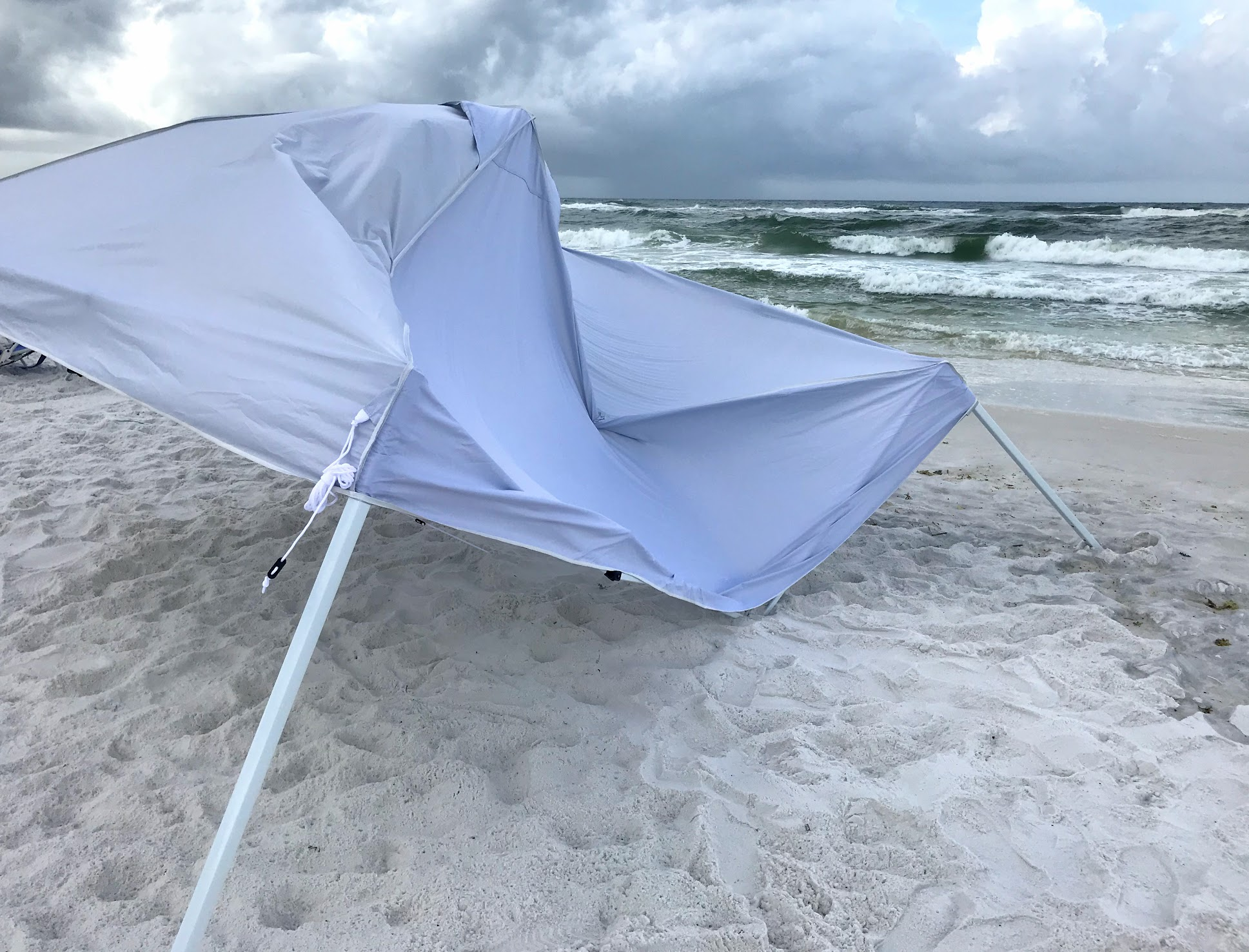 how to stabilize beach canopy tents