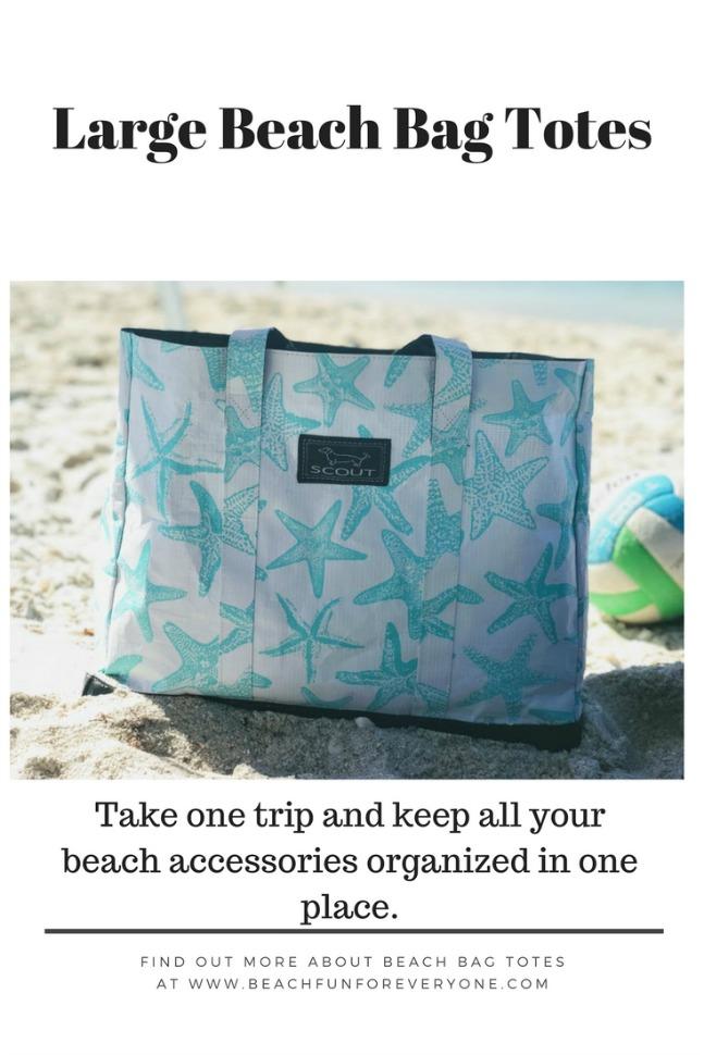 large beach tote bag