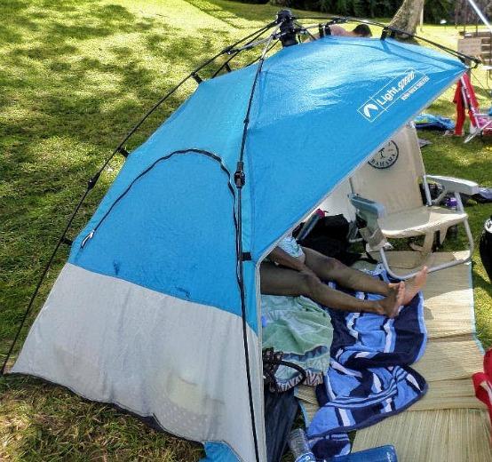 beach shade tents