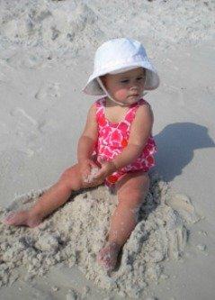 baby sun hats