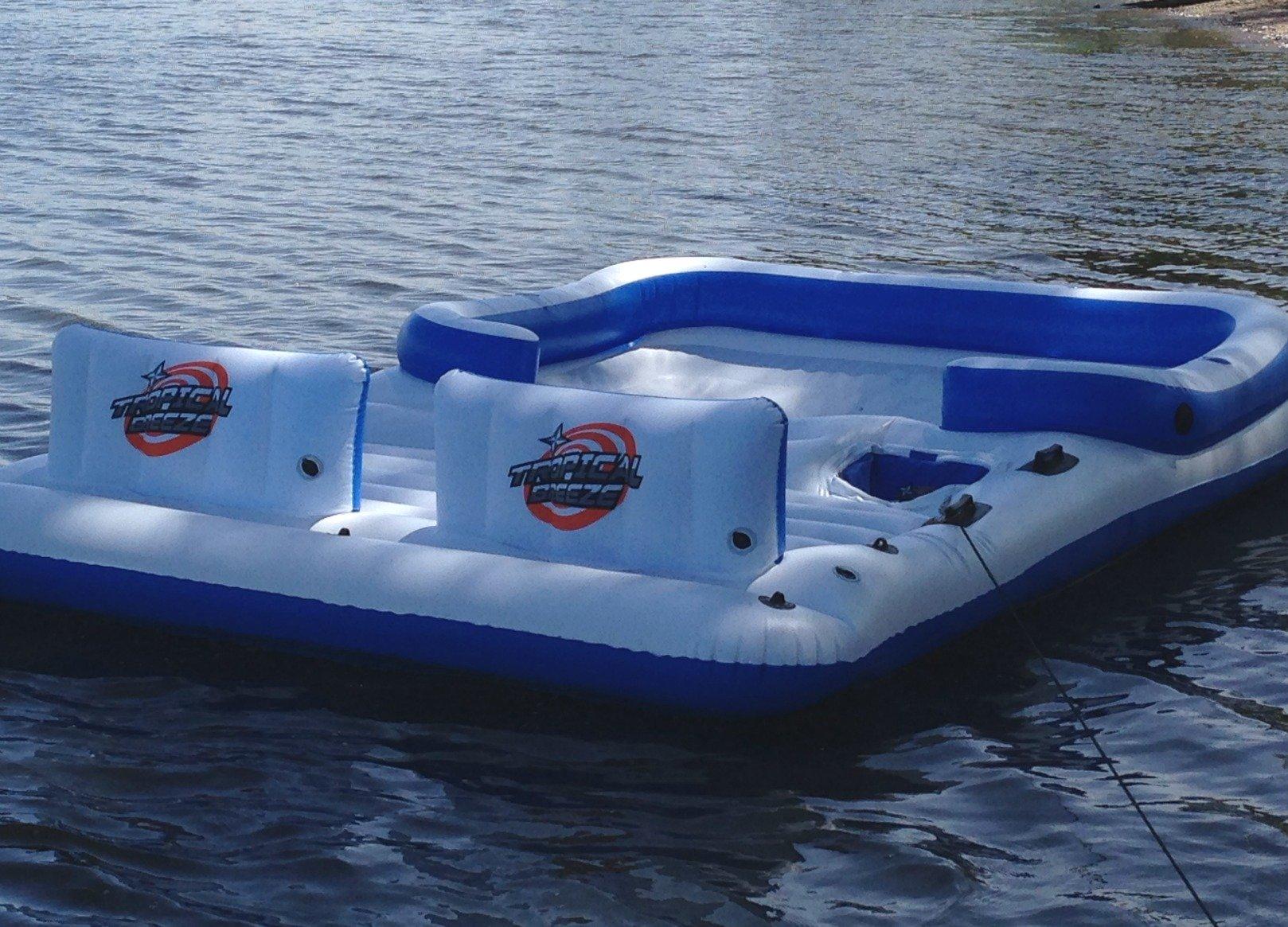 lake floating islands - 6 person floating island
