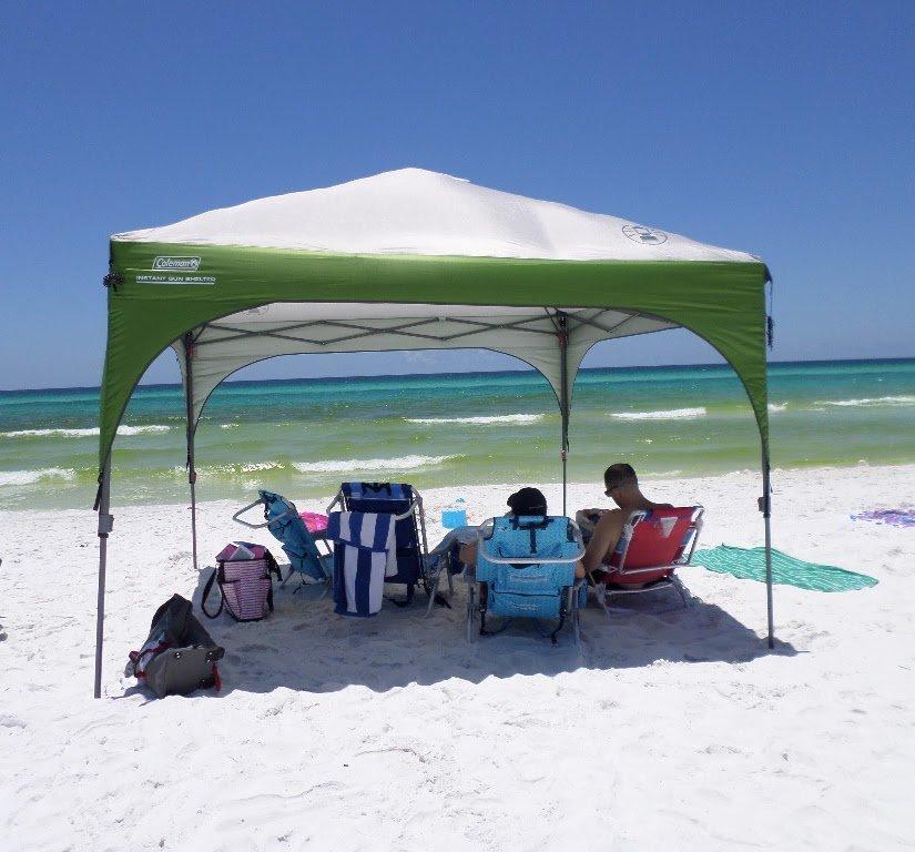 beach sun shade