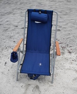 high back beach chair