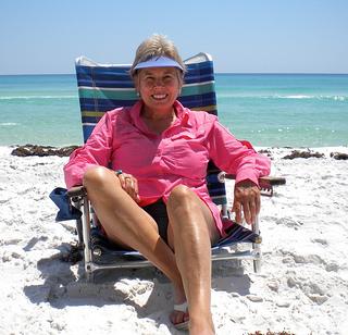 aluminum beach chair