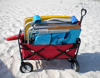 beach wagon for hauling your gear in one trip