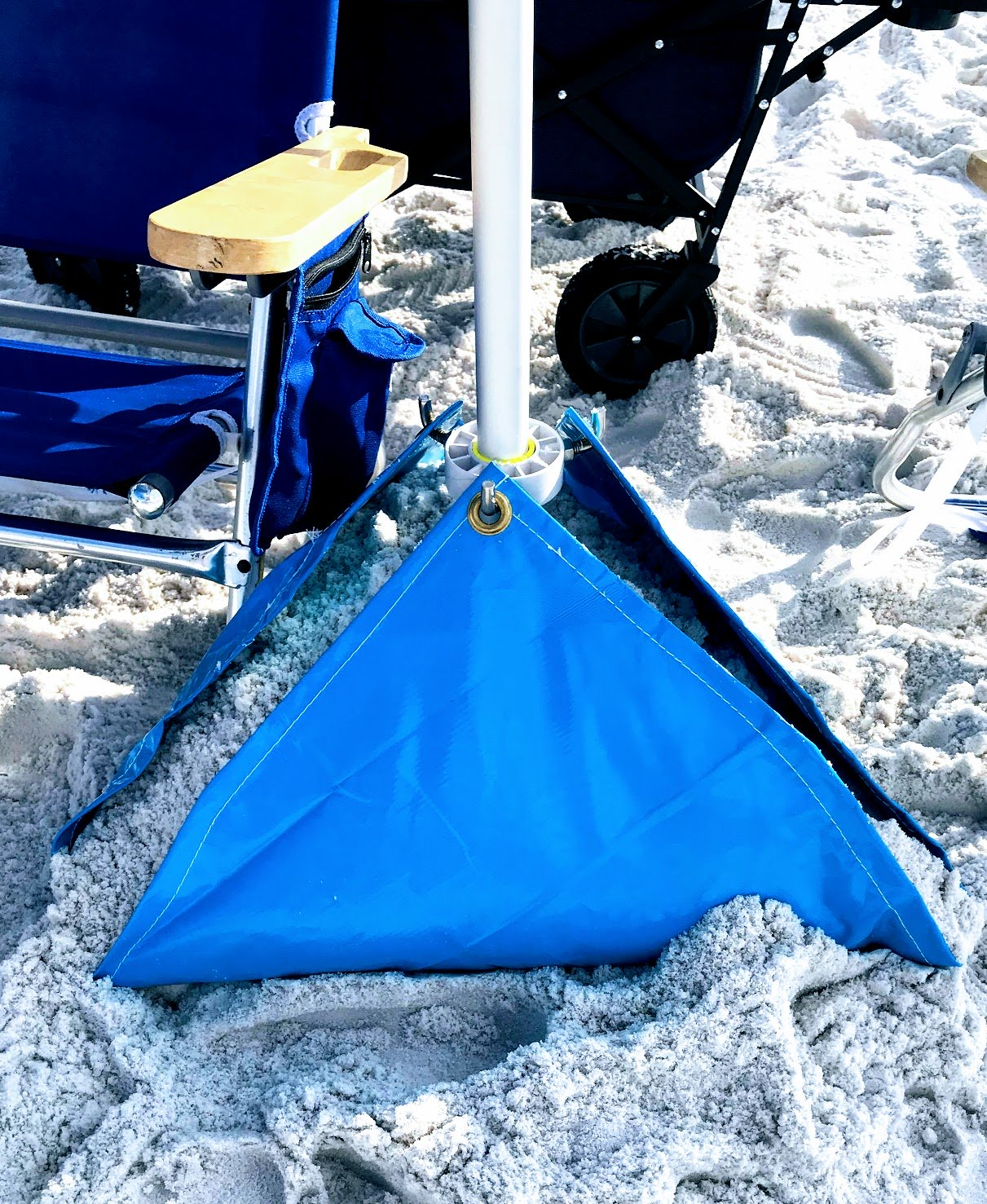 summer beach umbrella