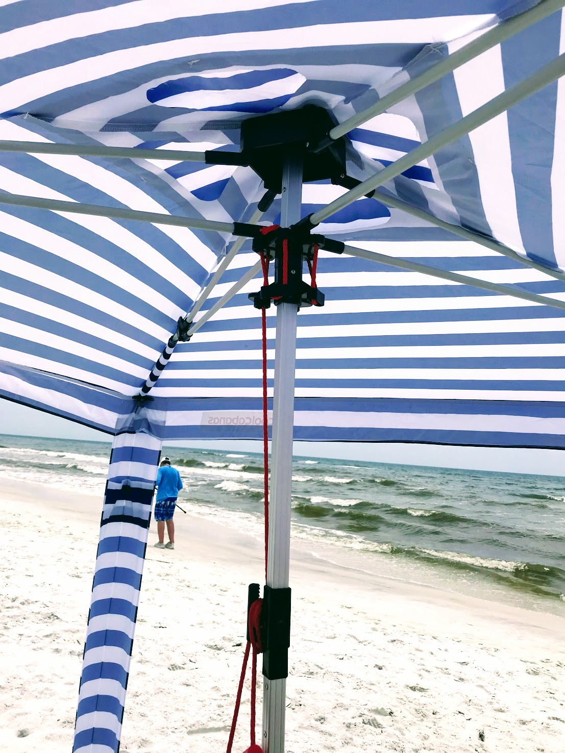 easy to set up beach cabana tent