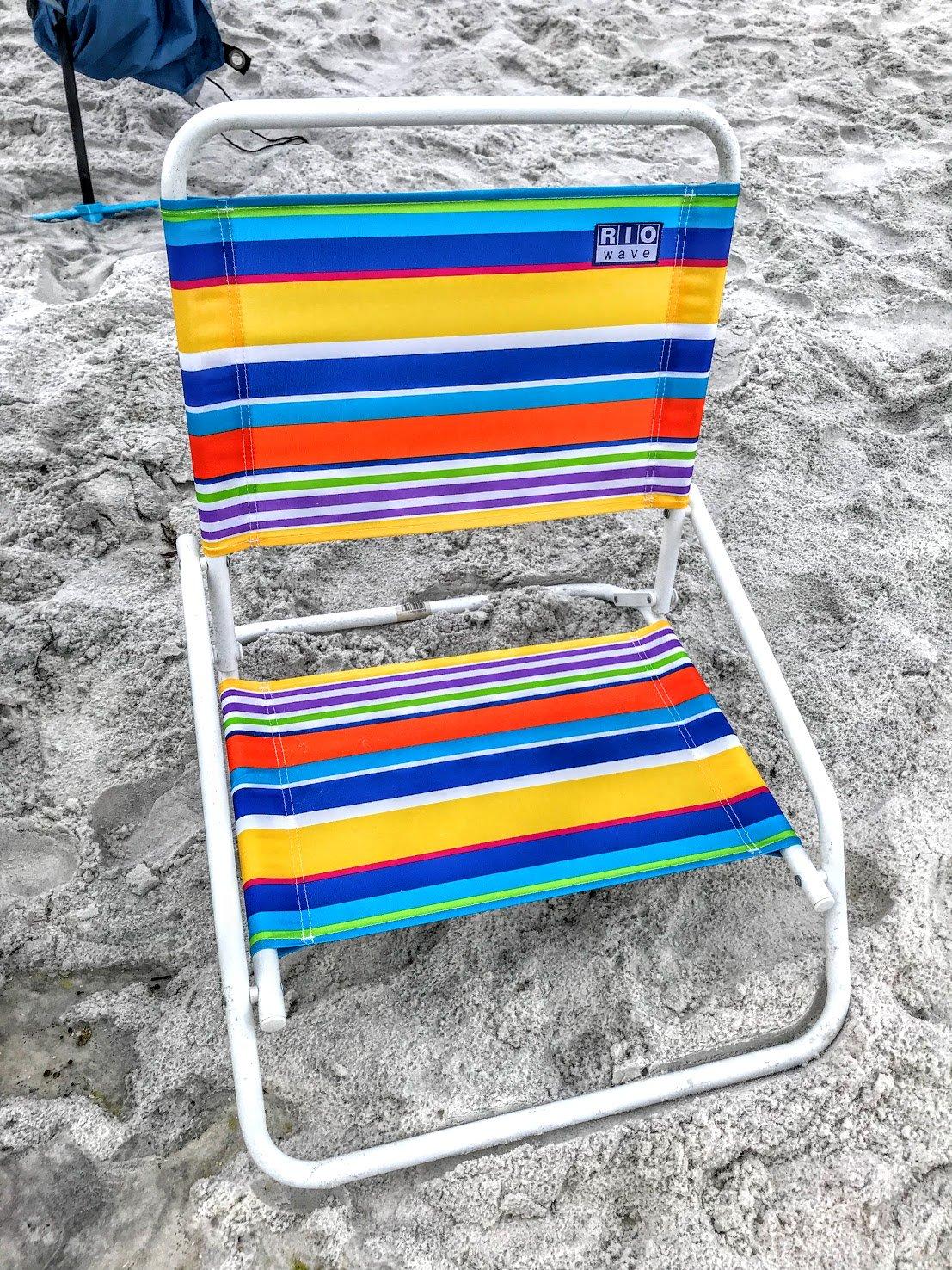 one position Rio beach chair