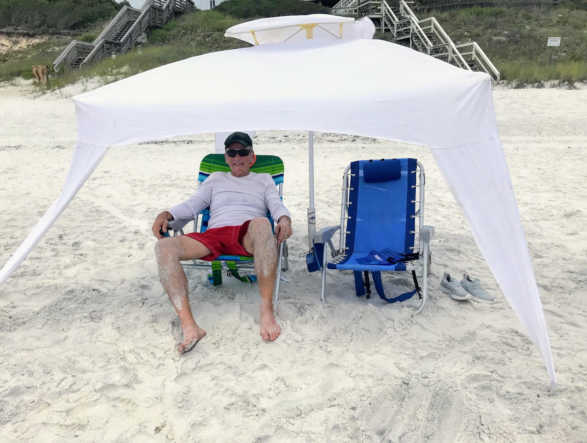 beach sun shade with beach canopies