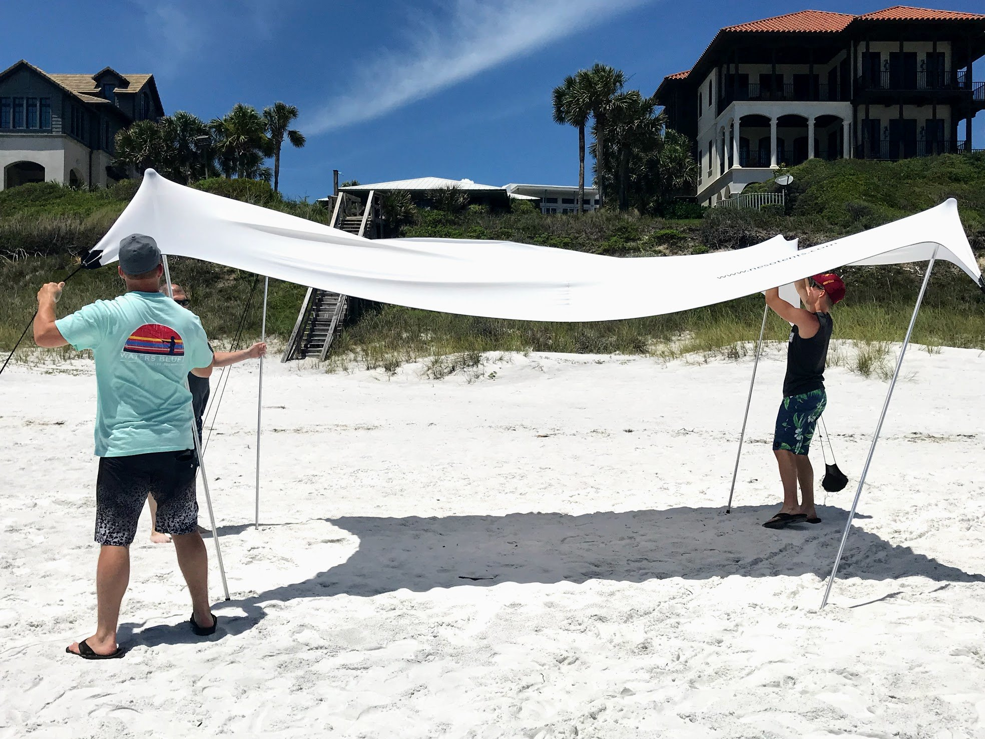 beach sun shade canopy